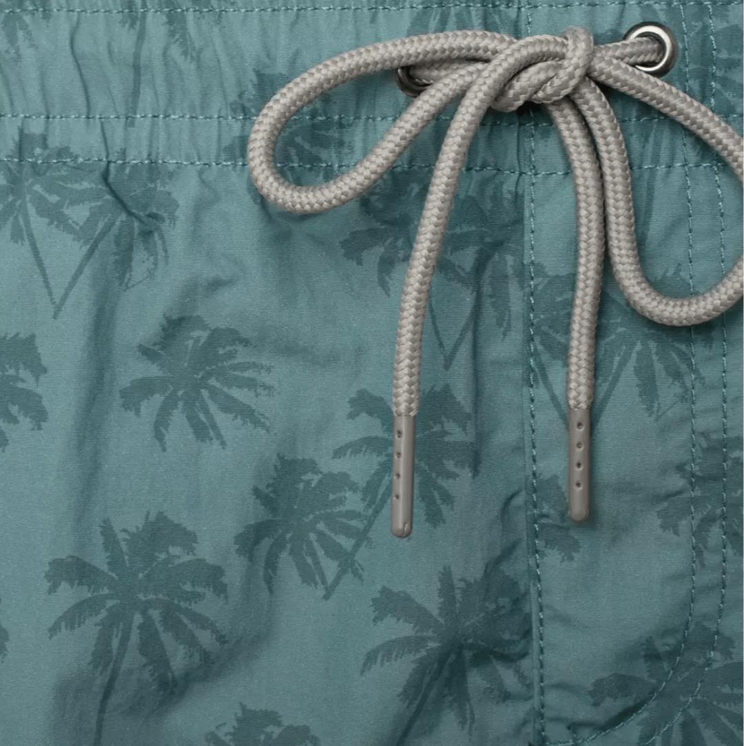 conversational flamingos Flowers Menaswear palms print swimwear