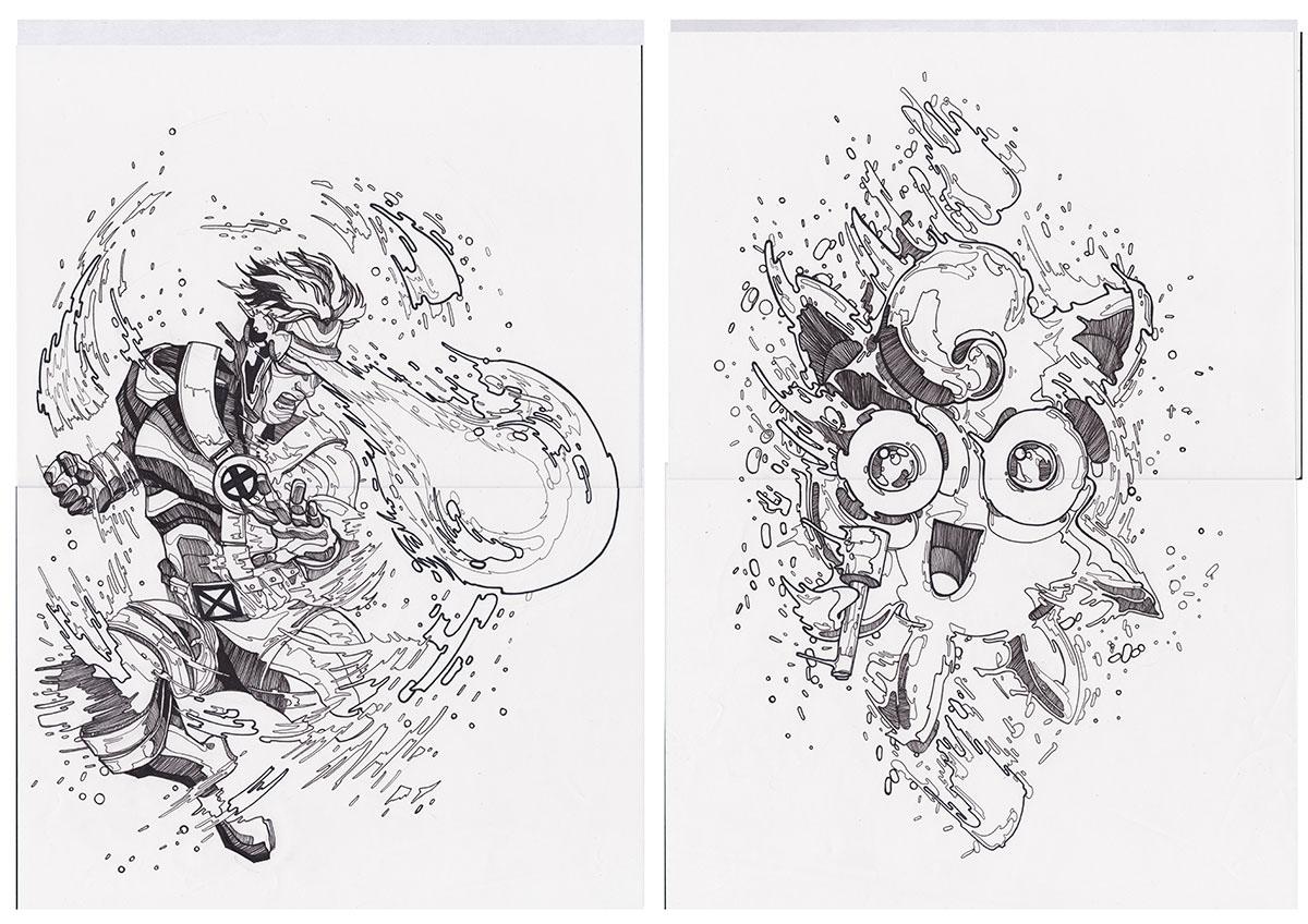star wars darth vader Pokemon pokemon go iron man X Men comics comic art Dc Comics