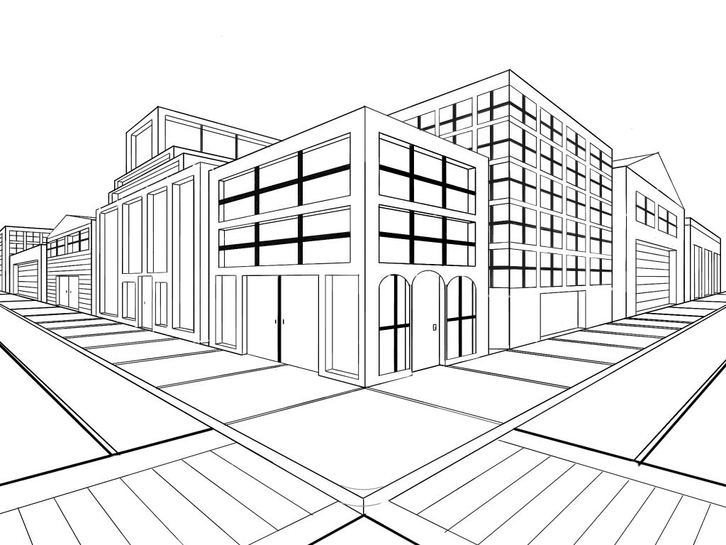 Graphics Park Place Offices 2 Perspective Small together with Showplans further Kolay Resim Cizimi besides Teknik Resim Egitimi in addition Gambar Perspektif. on perspektif