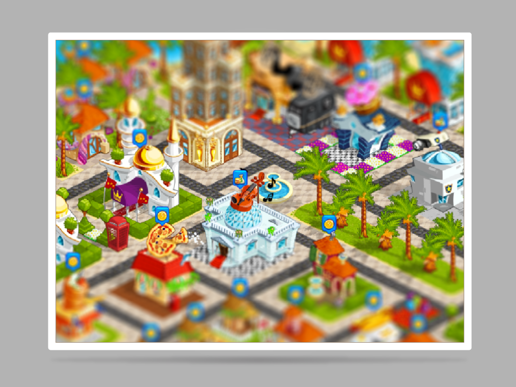 Capital coast gamedev city builder Games icons user interface buildings vector