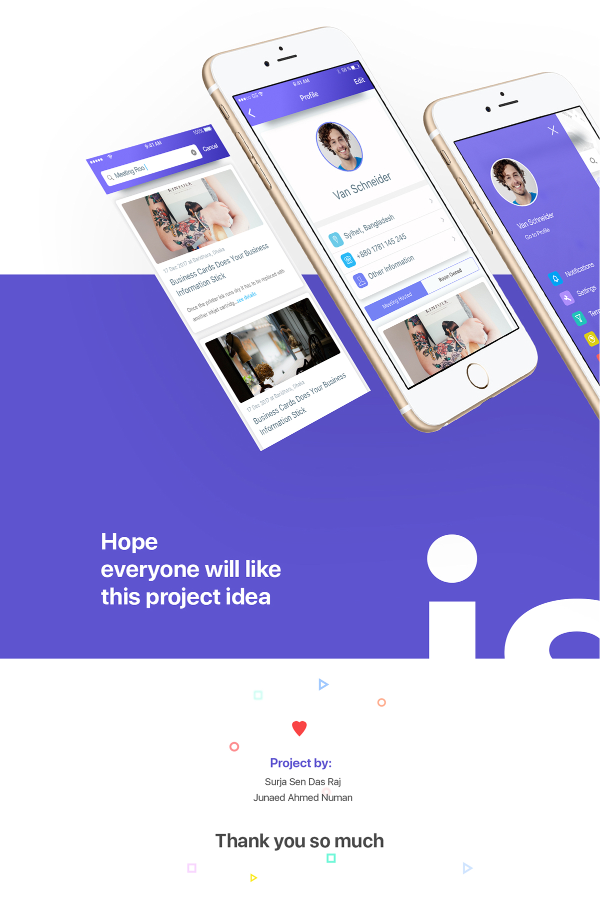 App To Design Your Room: IOS App Design Concept On Student Show