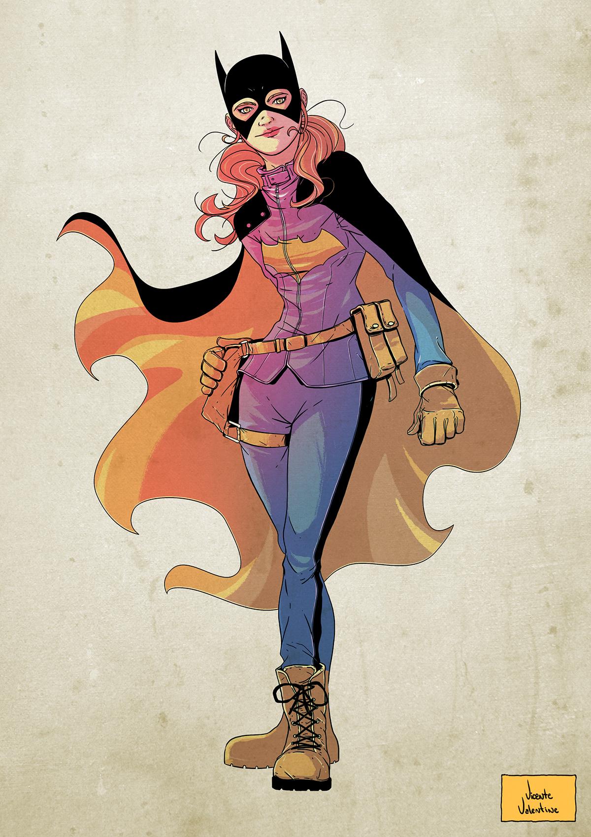 [Fan Art] Nightwing and Batgirl (by Steel Scarlet