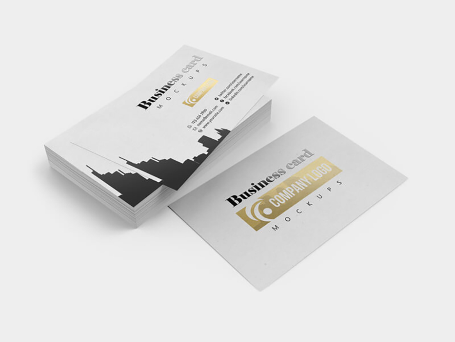 Business Card Free Mockups PSD | Pinspiry