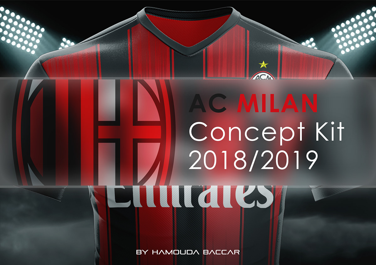 AC MILAN Football Concept Kit 2018/2019 on Student Show