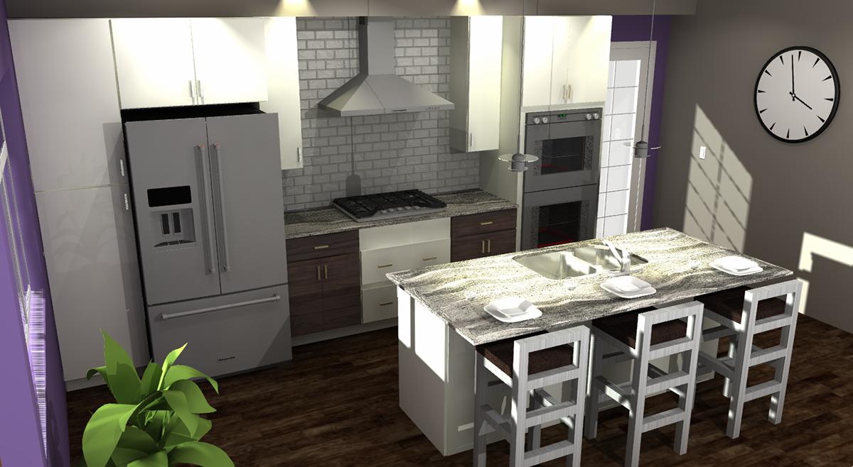 Modern Design contemporary design Color Pop kitchen design