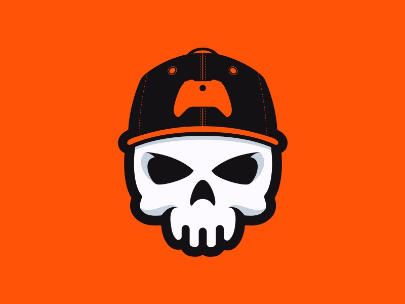 Skull Gaming Logo on Behance