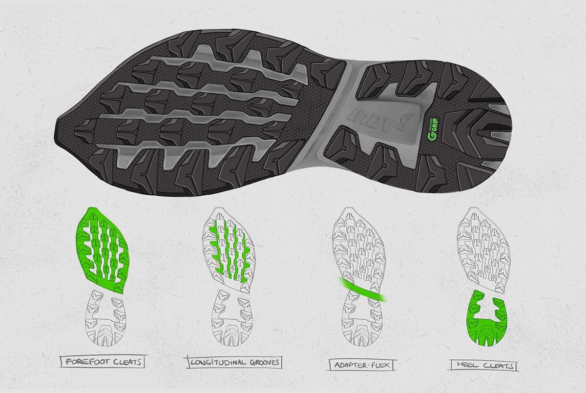 footwear graphene product design  running shoe sketch sneaker Sportswear