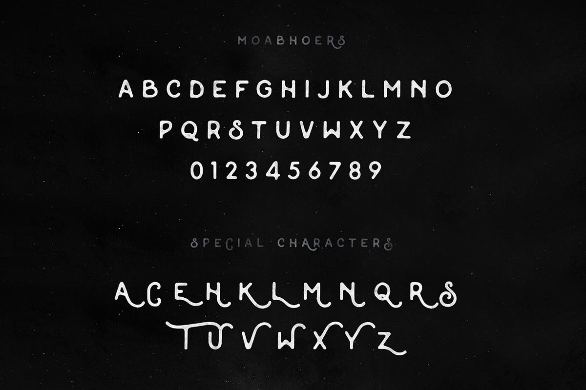 handmade lettering Handlettering vintage free freebie freebies handdrawn monoline monthoers