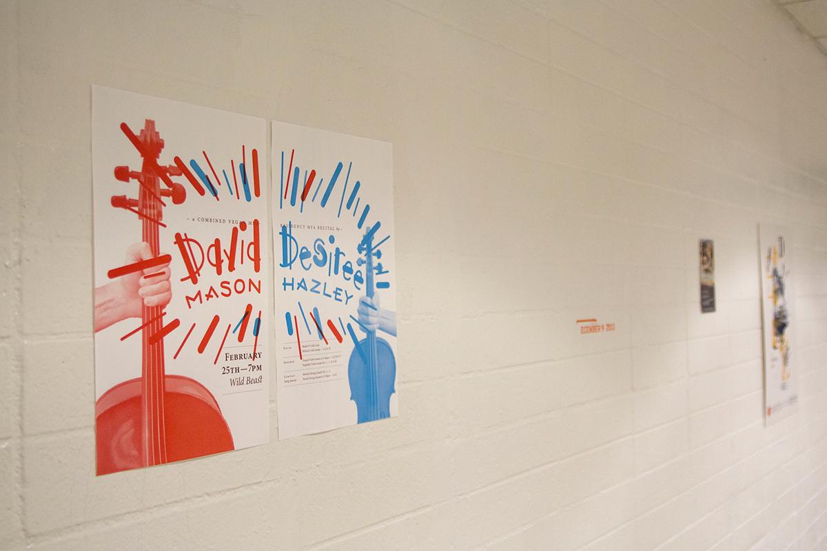 posters poster cartaz calarts Exhibition  lettering type tipografia experimental photo