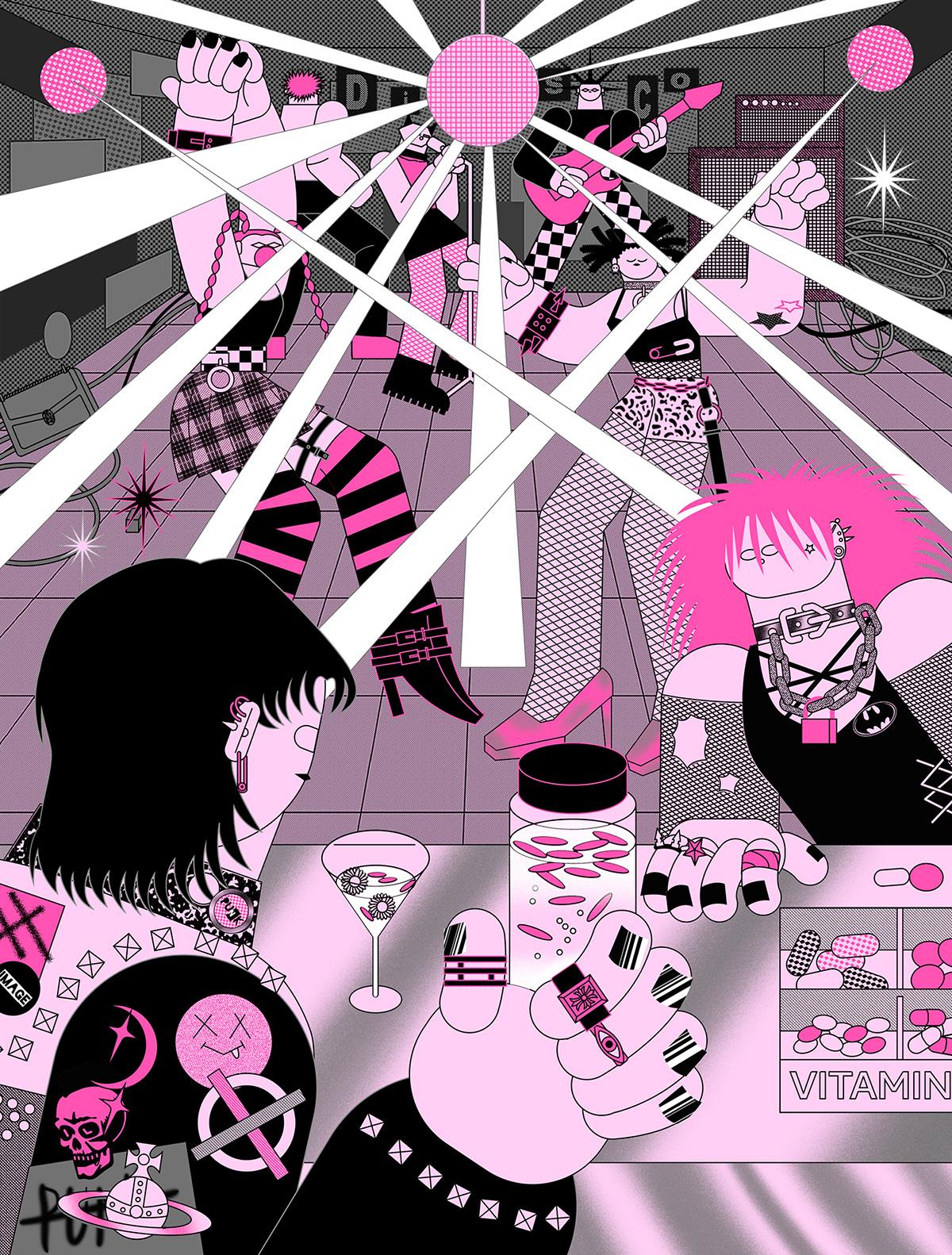 Image may contain: cartoon, art and poster