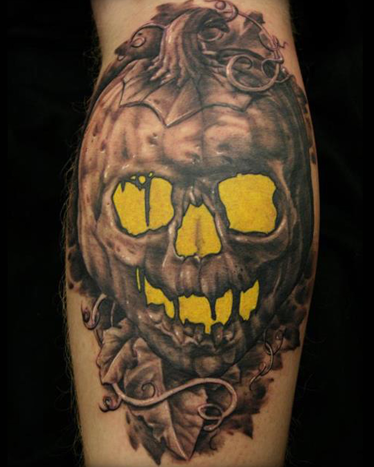 Realistic skull tattoos by jackie rabbit on behance for Best tattoo artists in northern california