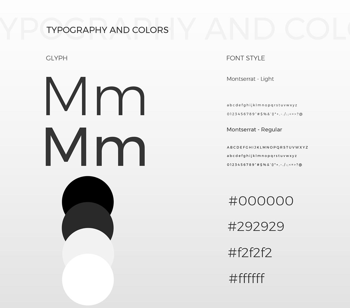 redesign minimalist UI ux Interface design creative Webdesign Web inspiration