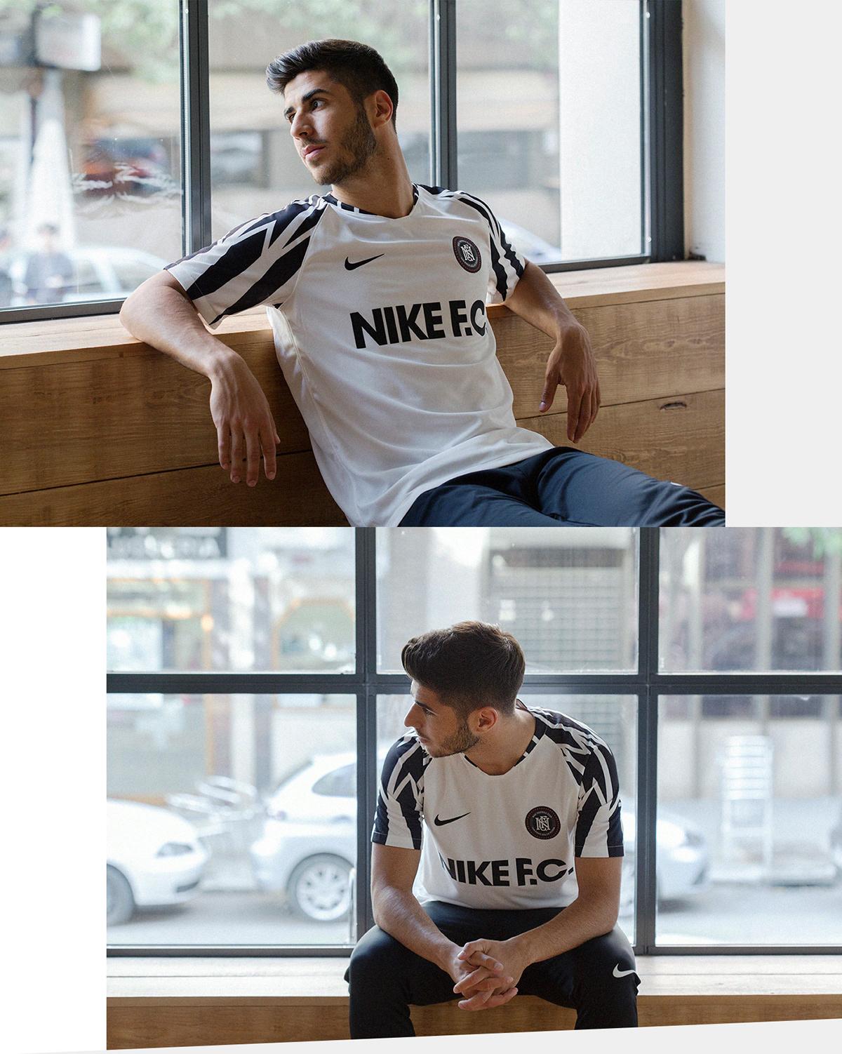 belleza tienda del reino unido sitio web para descuento Nike FC SS18 - Marco Asensio Photoshoot on Pantone Canvas ...