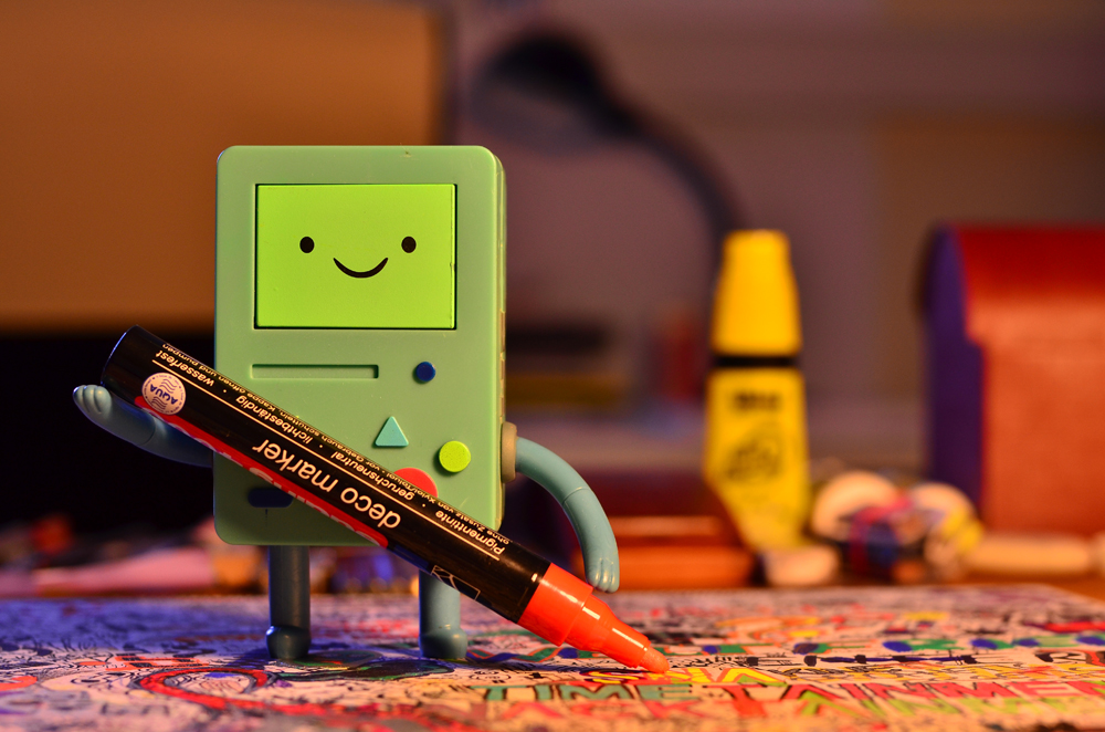 BMO  beemo Adventure Time Action Figure
