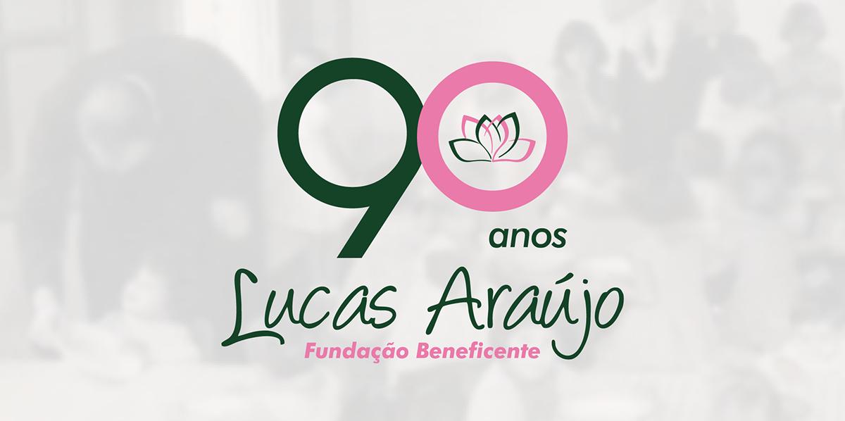 Logotipo Comemorativo social 90 años Assistencial