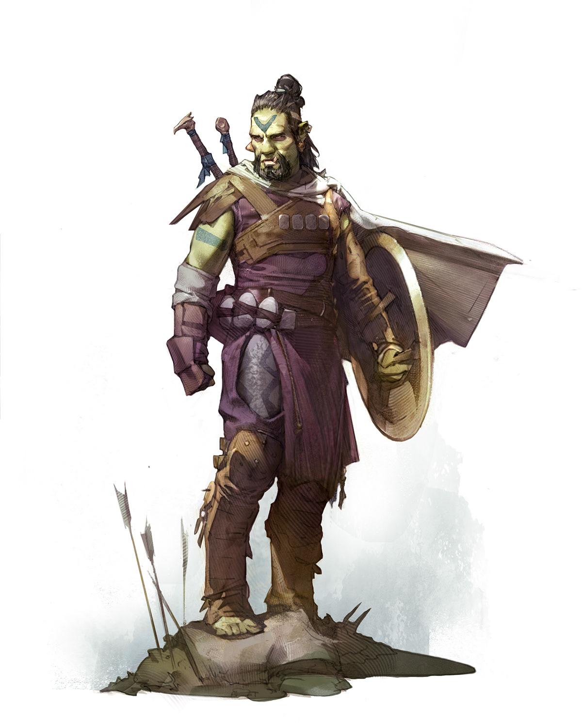character art Character design  concept art digital Digital Art  digital illustration fantasy science fiction star wars