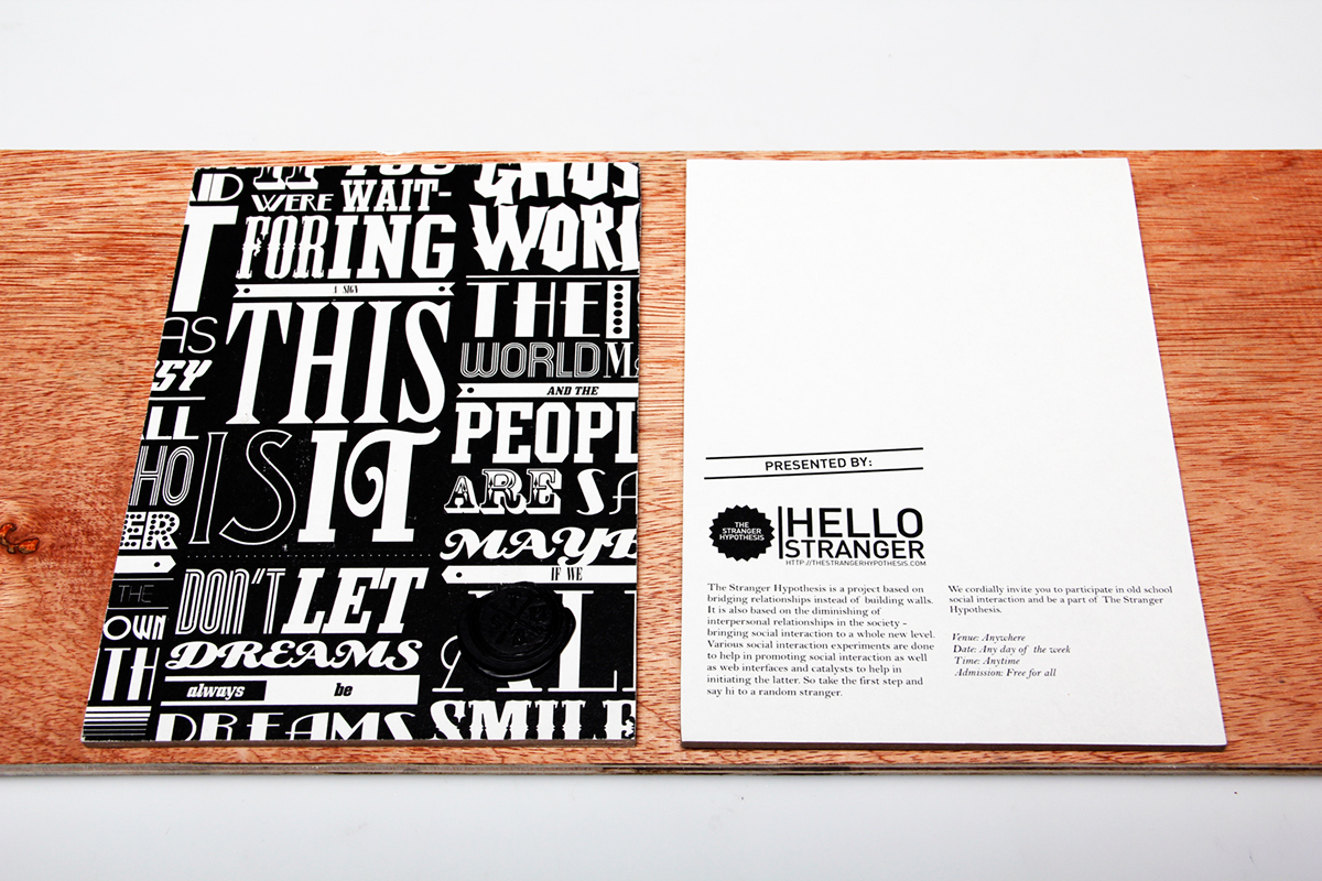 The Stranger Hypothesis on Behance