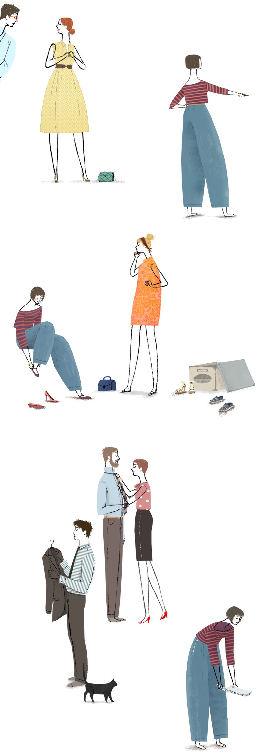 "Adobe Portfolio design ""Interior Design"" ""cabina armadio"" armadio wardrobe people man women dress woman"