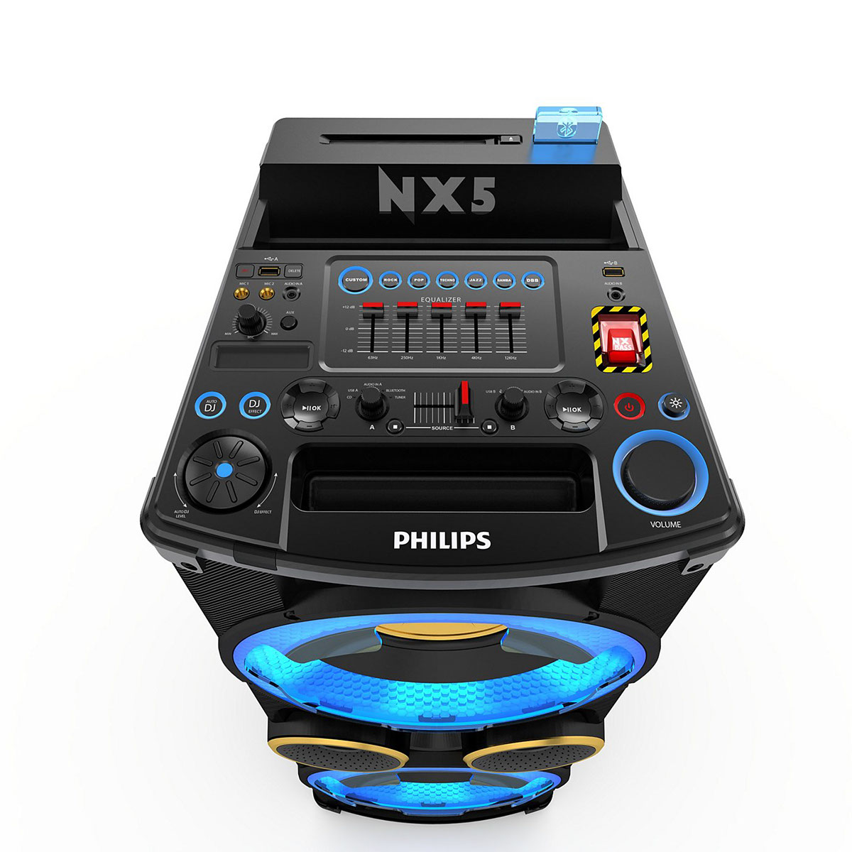 phillips dj machine