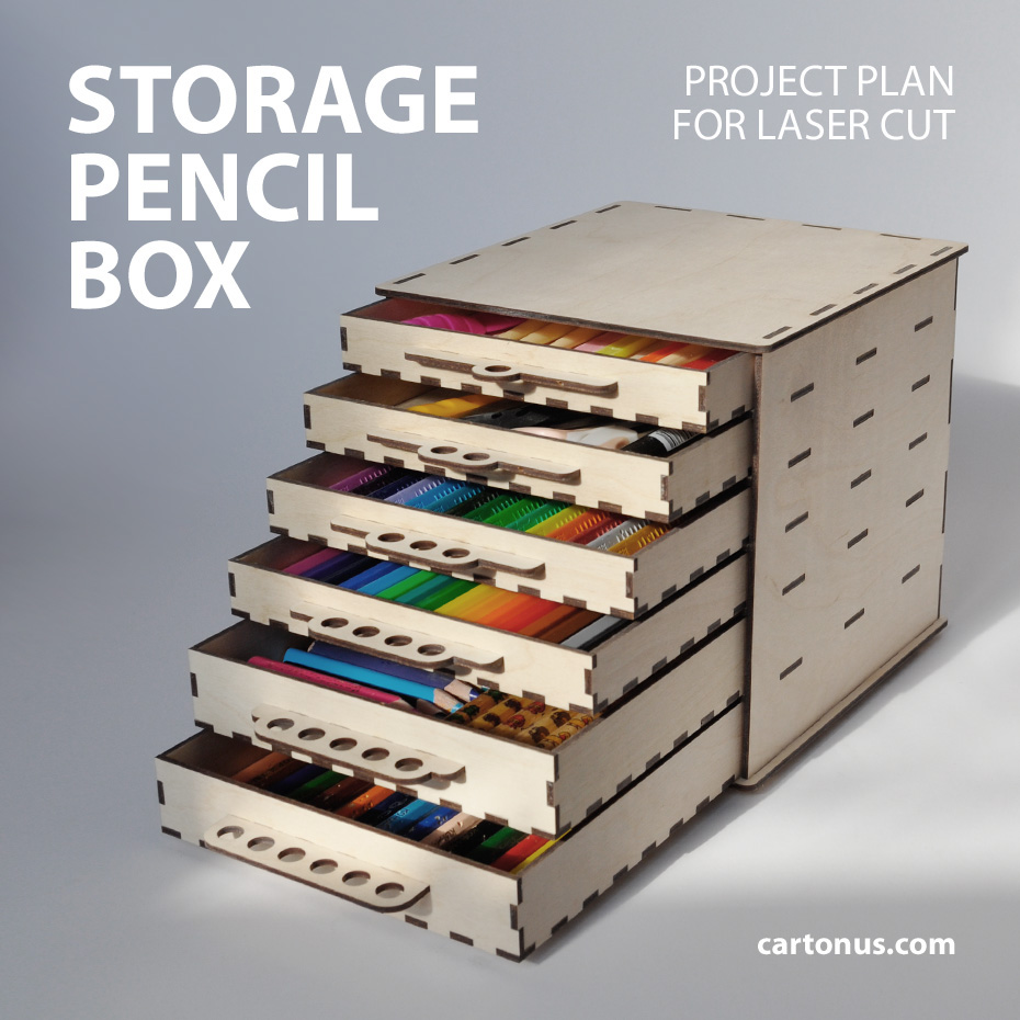 View a Larger Image of Woodworking Project Paper Plan to Build Flip-Up Pen  Box