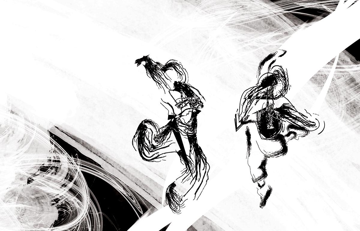 Editorial Illustration IPCA DANCE