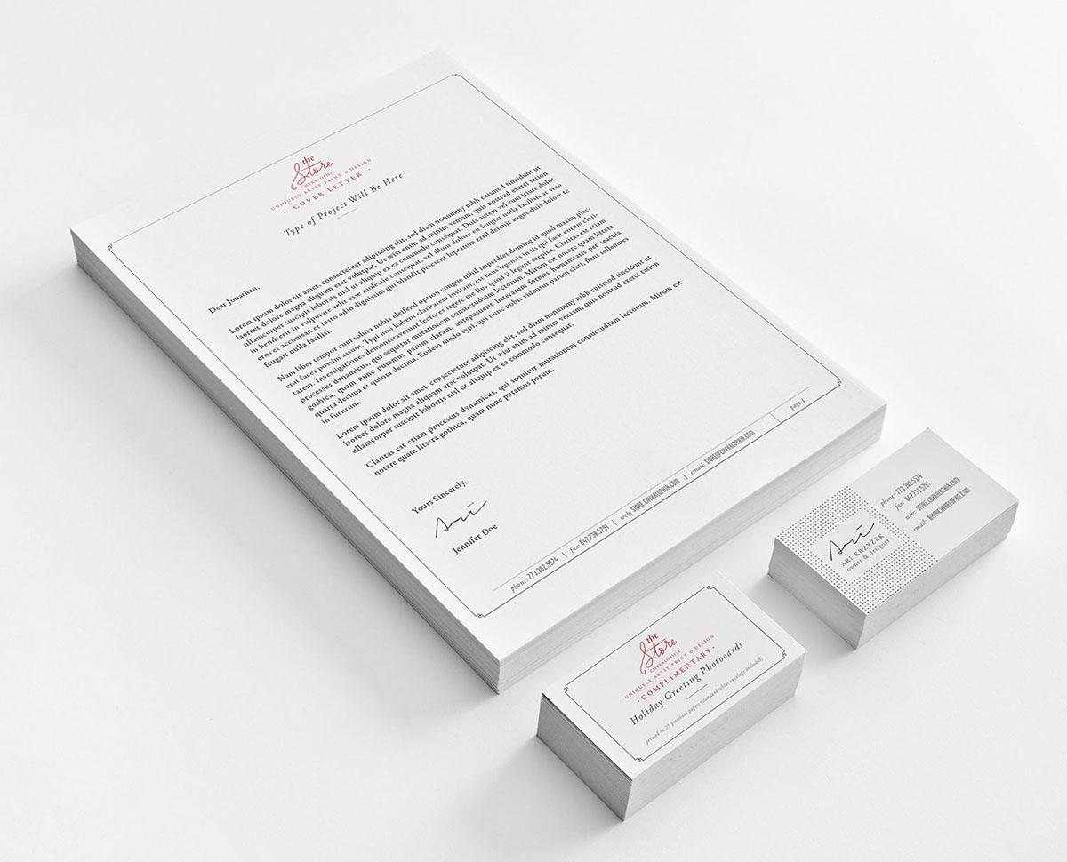 wedding personal Stationery Set Classic modern  invoice