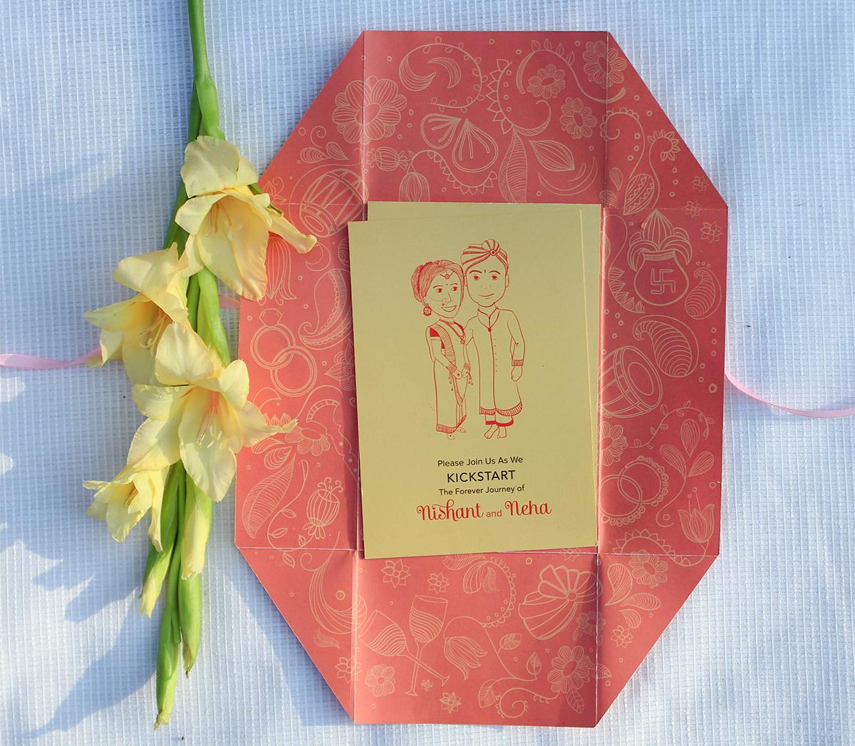 Nishant weds Neha | wedding invite on Behance