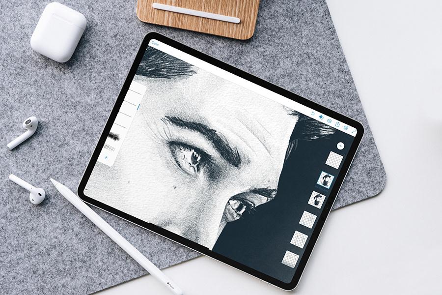 lane toran portrait Drawing  Digital Art  iPad Pro Art sketch male portrait PORTRAIT DRAWING Figure Drawing