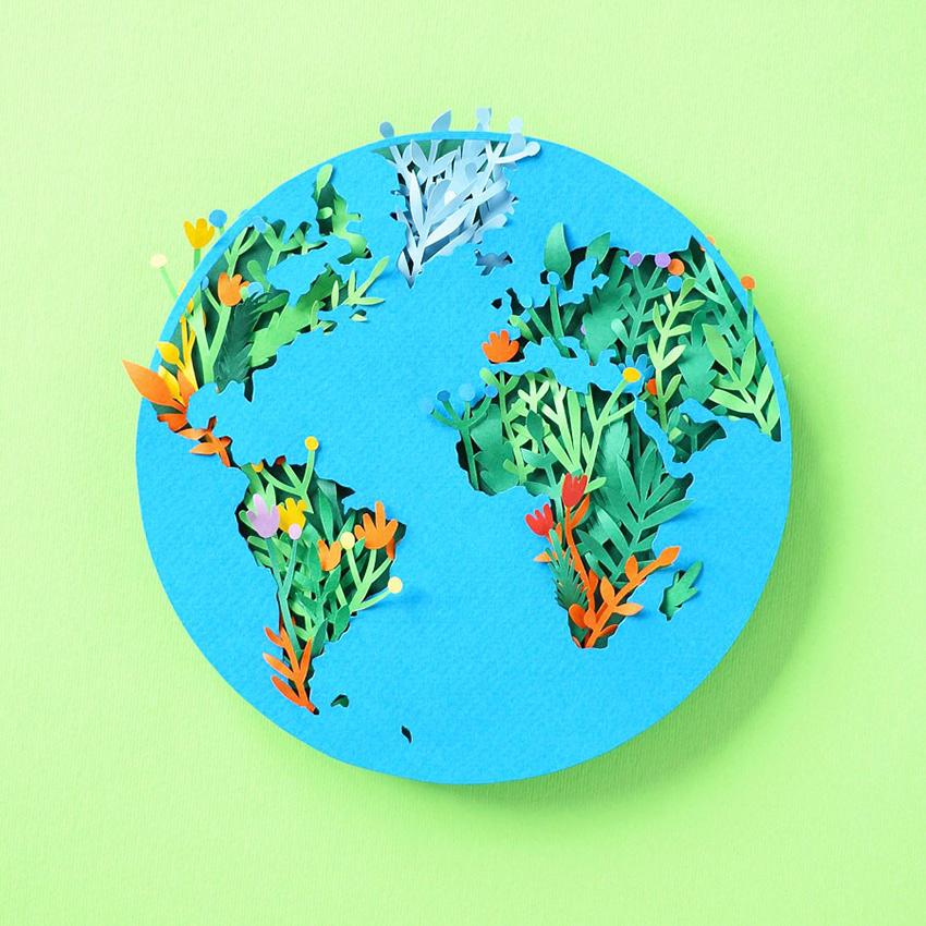 Planet Earth Art