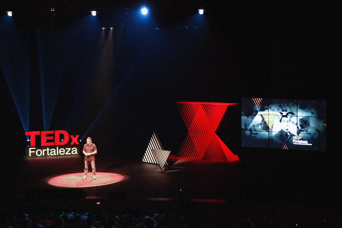 Visual Identity for TEDx Fortaleza