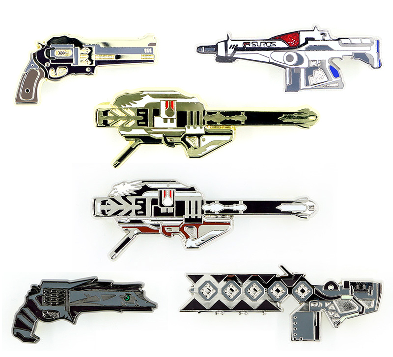 b0d0a4c8427 Above  Weapons standard pin pack includes three regular pins plus one  randomly generated fourth pin. These three include The Last Word