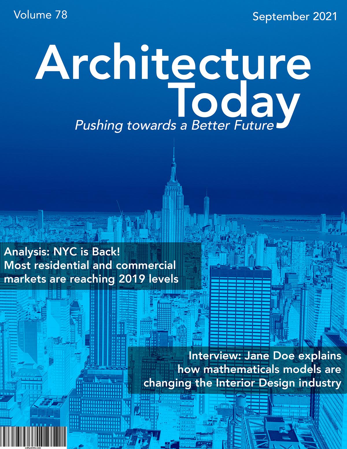 architecture editorial graphic design  magazine New York nyc Photography  print