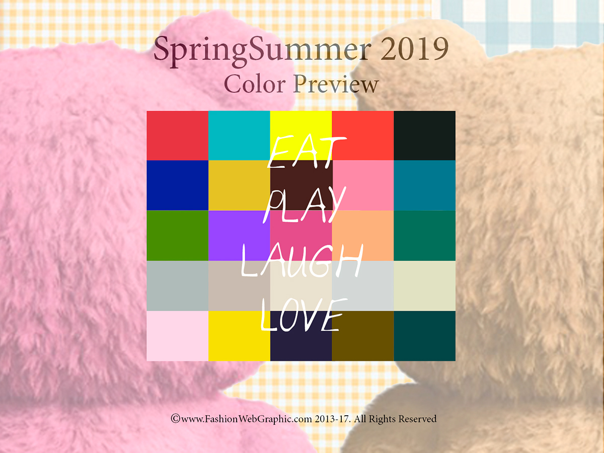 Ss2019 Trend Forecasting On Pantone Canvas Gallery