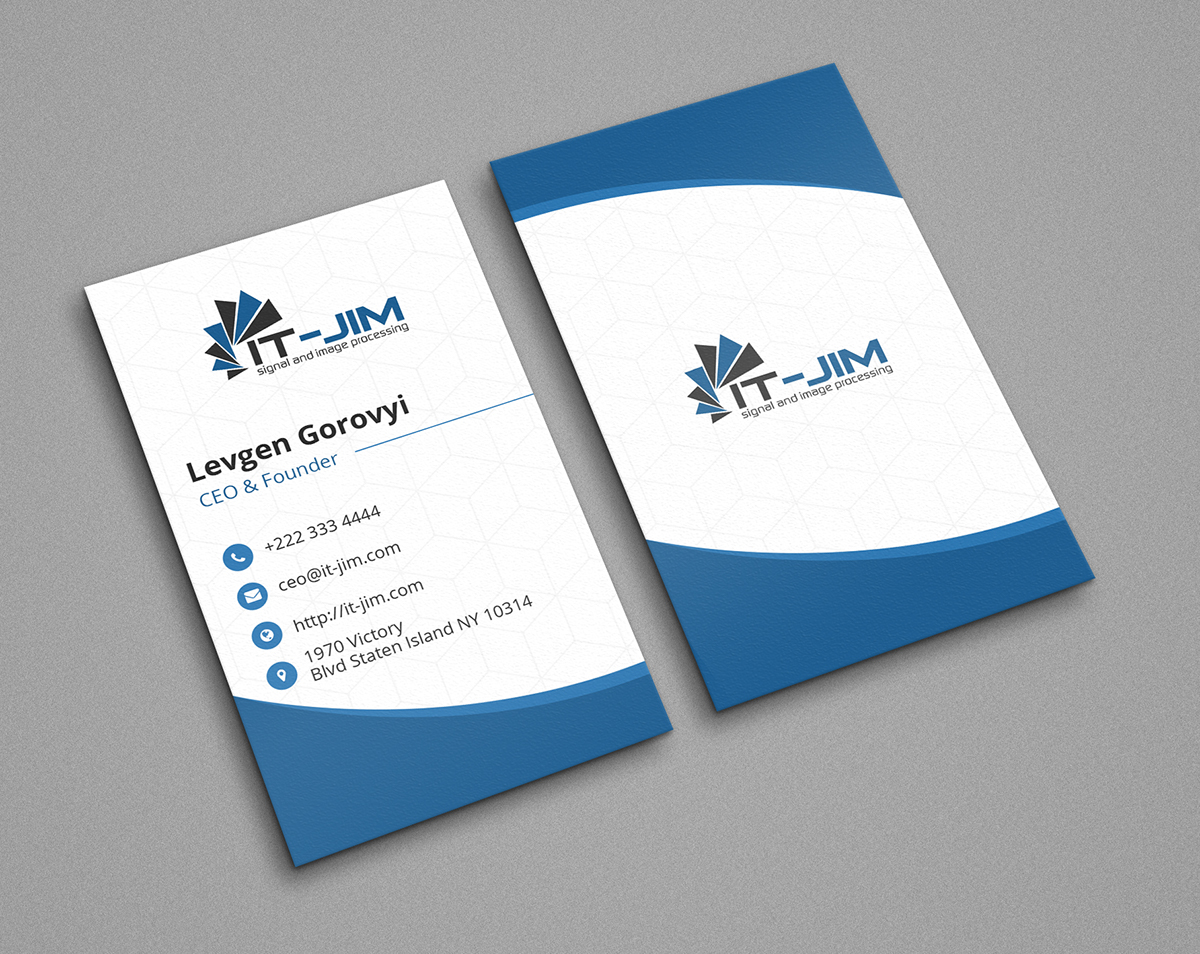 Free blue bird business card on student show vertical visiting card 3 print ready 2 x 35 4 source files psd 5 300dpi high resolution reheart Choice Image