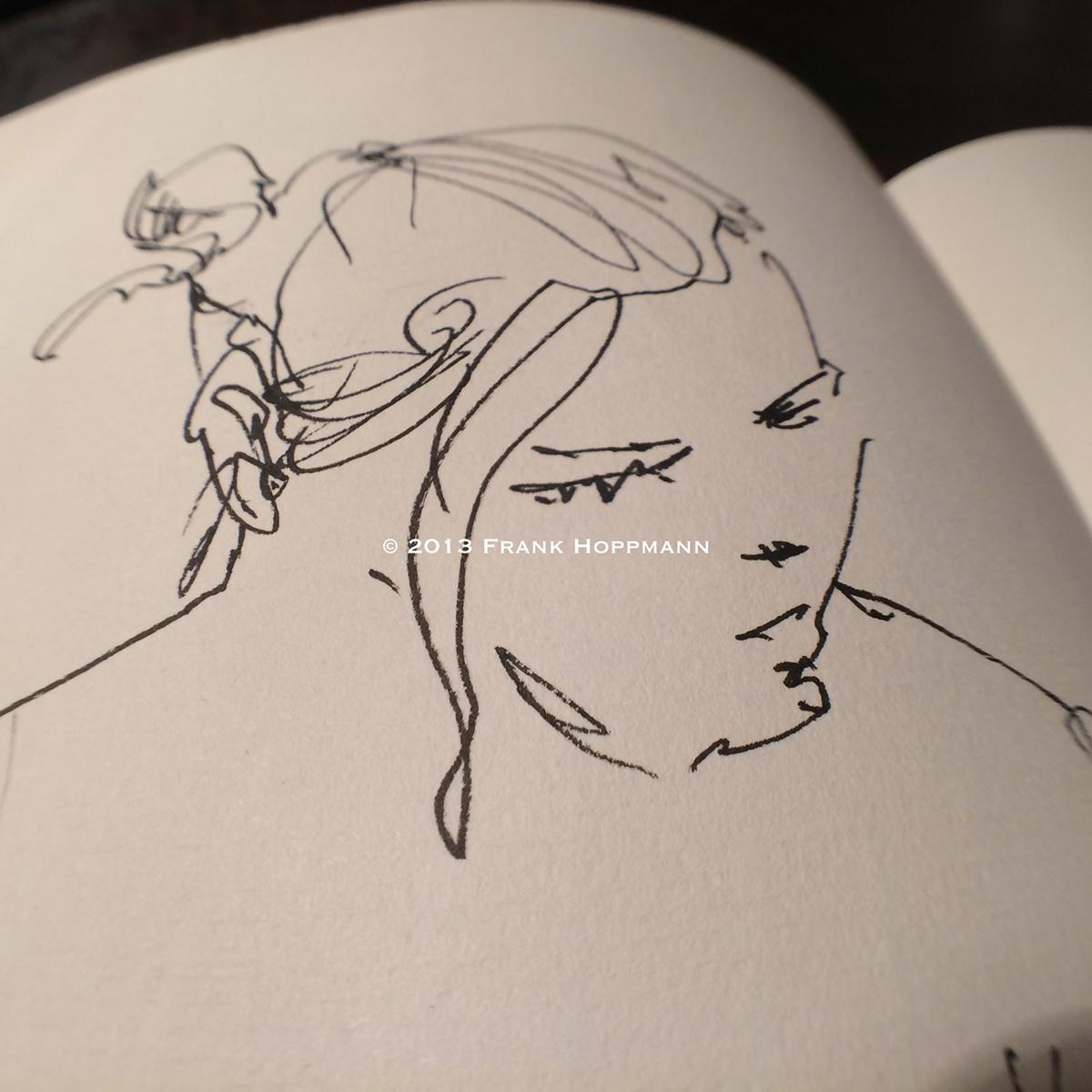 Nude life drawings 2012-2013 - Sketchbook part II