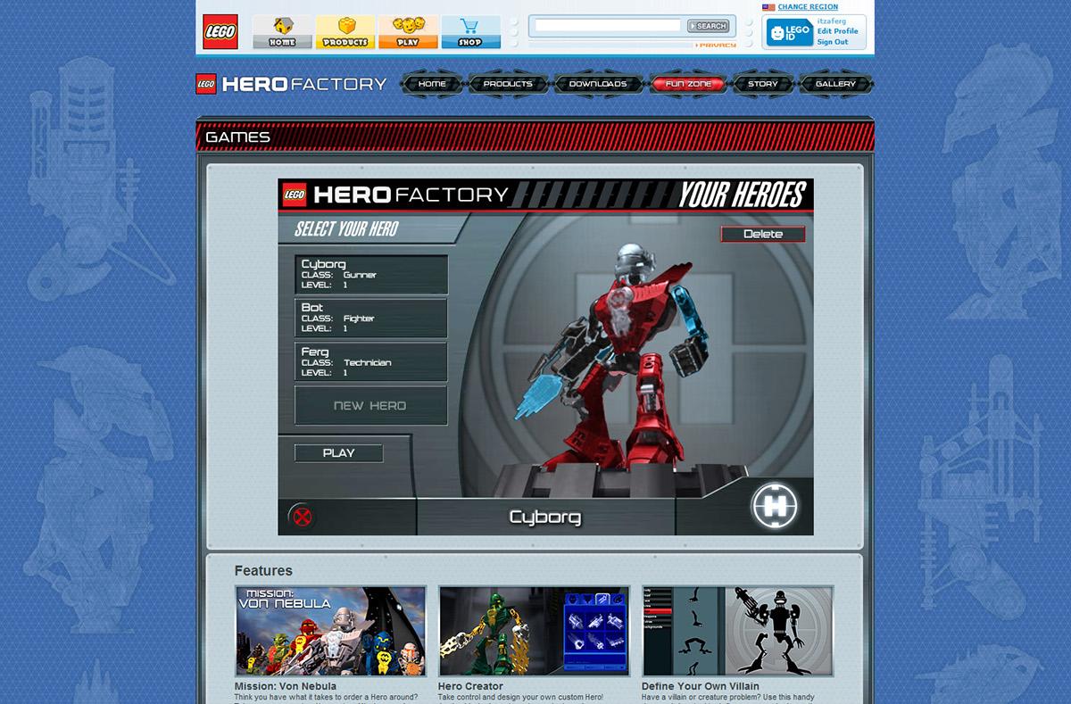 Lego Hero Factory On Behance