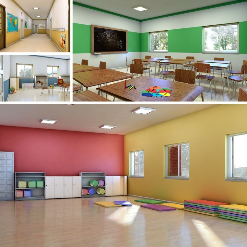 Nursery school concept on Behance