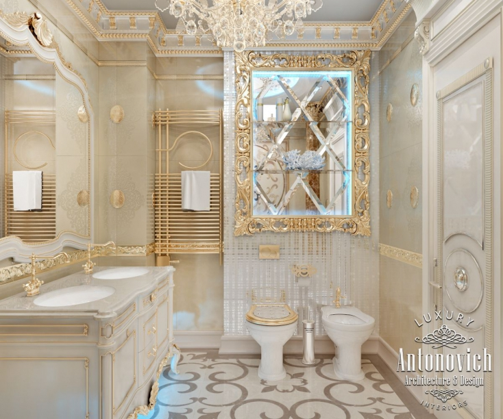 Bathroom design dubai antonovich design on behance for Bathroom interior design dubai