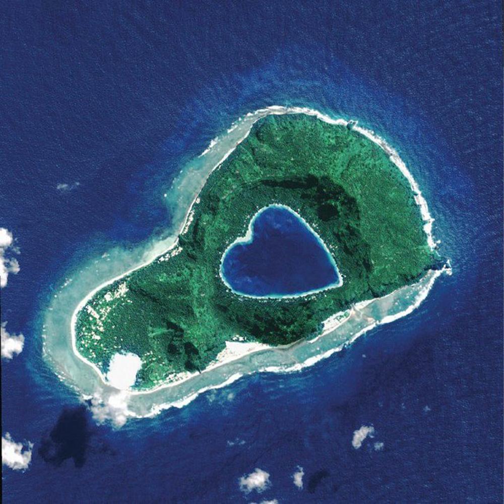 heat Island Aerial bird's eye Nature