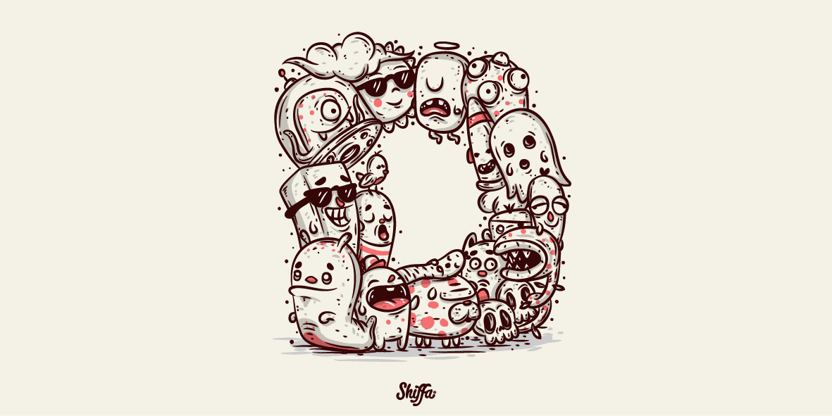 36 days,type,lettering,cartoon,toon,vector,pixel,tattoo,shiffa,Custom,color