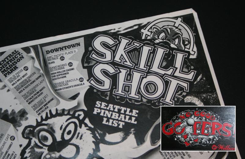 Skill Shot—Seattle Pinball List on Behance