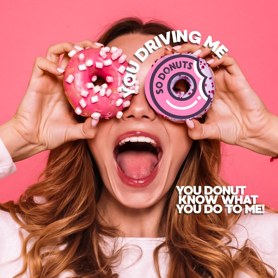 doughnuts brand identity presentation marketing