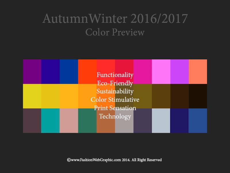 Цвет модный в 2017г