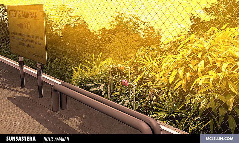 environment anime japan malaysia ipcc MDEC kuala lumpur sunsastera 2D 3D background plate