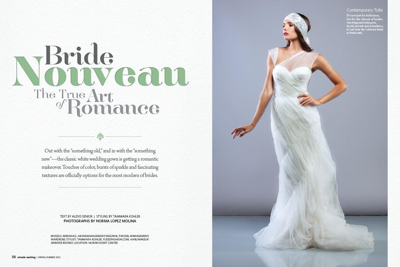 christine dupont orlando wedding magazine spring summer 2013