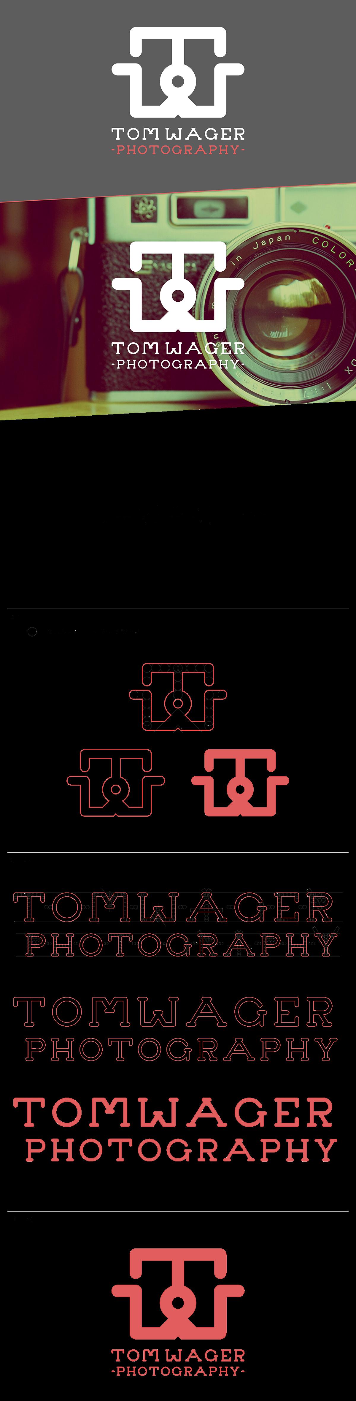 Logo Design camera logo camera icon type Typeface