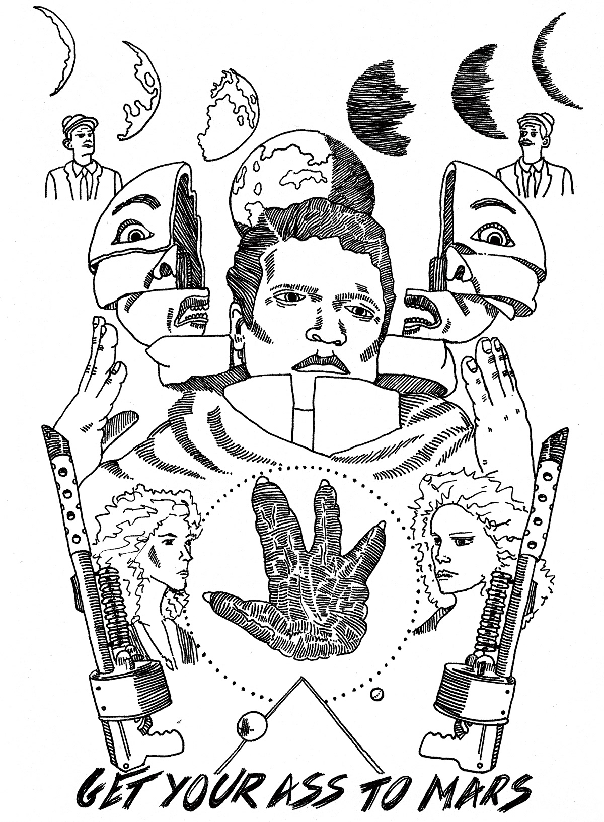 ILLUSTRATION  Editorial Illustration drawings