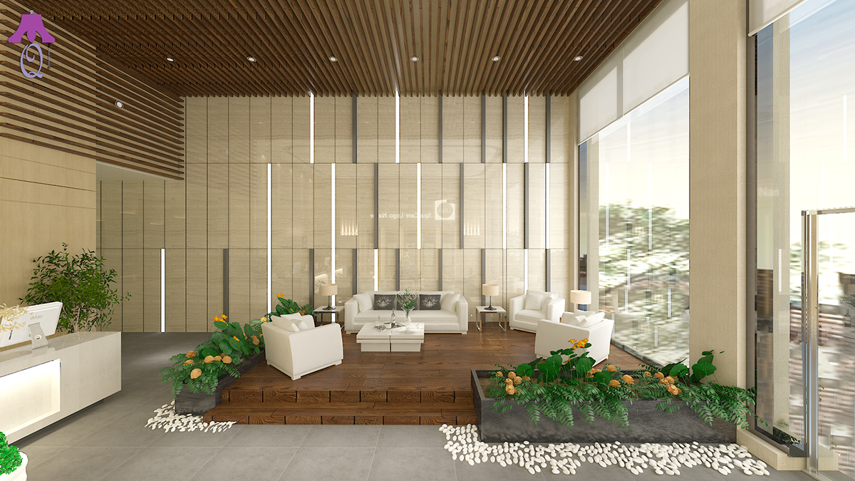 Spa Lobby Design On Behance