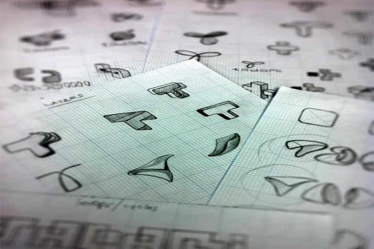 renato castilho write down everything tadami colorful gradients custom typography kids Fun Transparency logo identity Style concept graphic