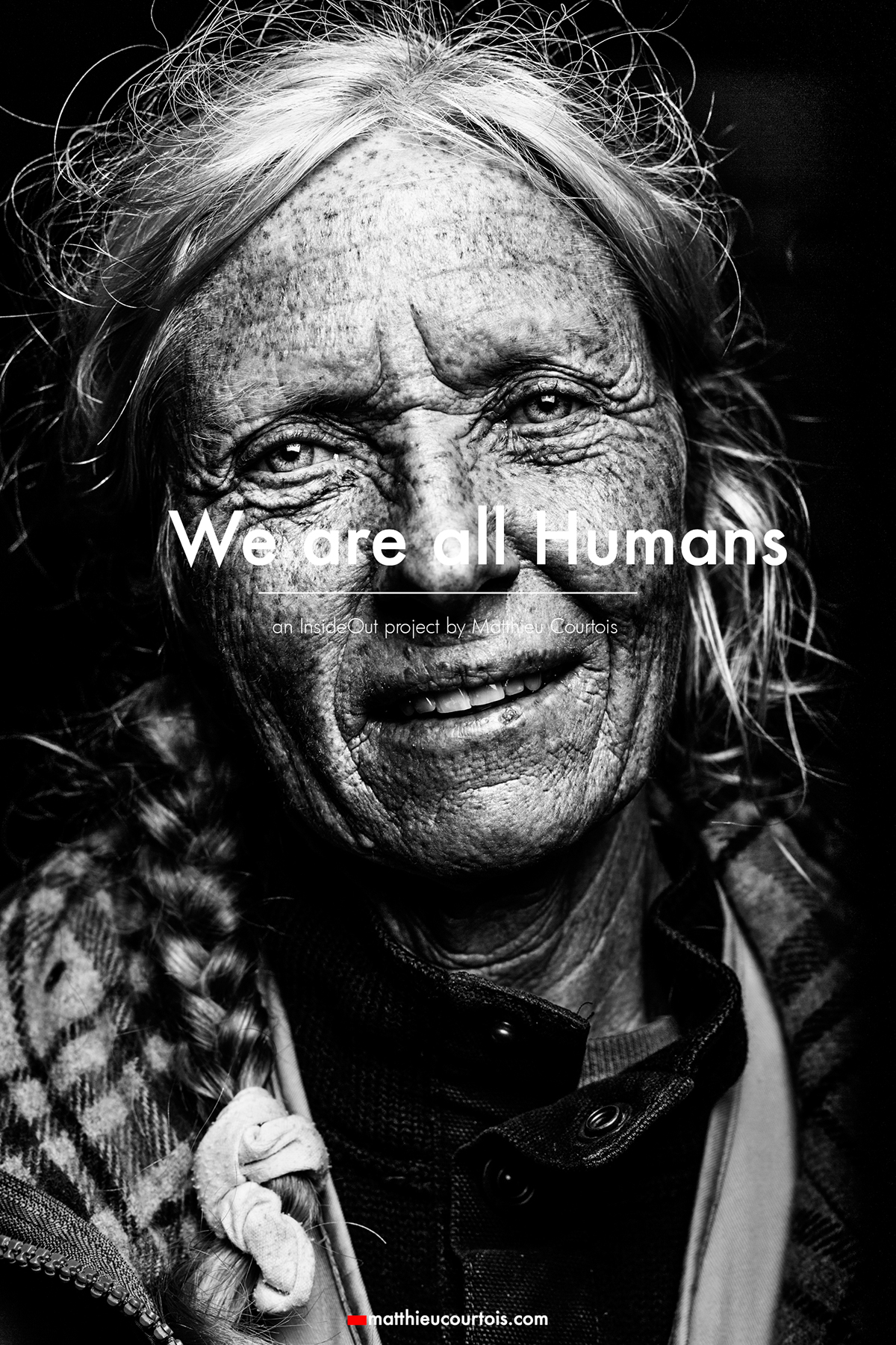 Adobe Portfolio portraits black and white Inside Out Project Photographie migrants refugee art